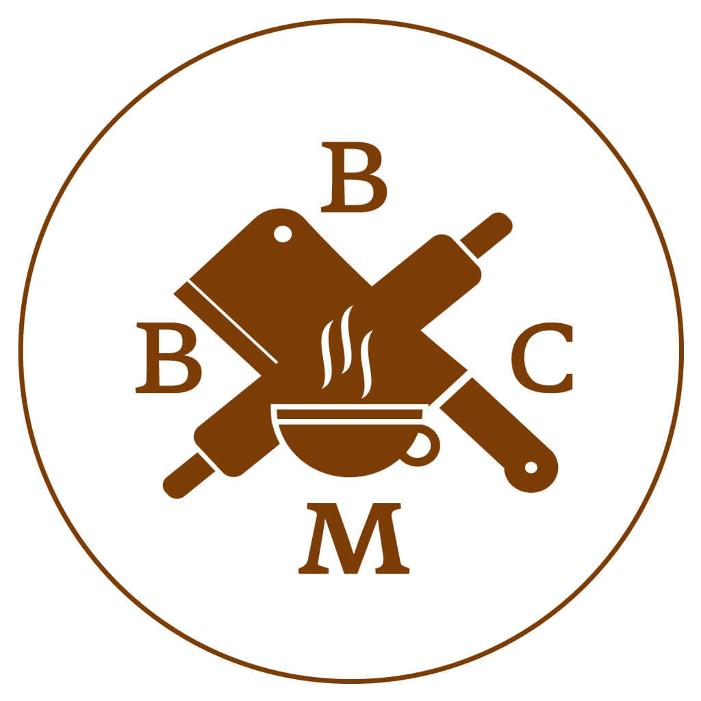 The Butcher, The Baker & The Cappuccino Maker Cafe dark logo